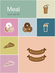 Meal icons