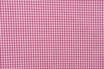 Karo Stoff Muster rosa weiß