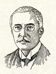 Rudolf Diesel (1858-1913), German engineer who invented the Diesel engine