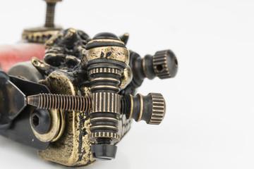 The unique professional tattoo machine  gun.