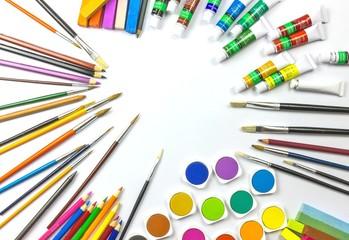 Malen und Zeichnen - Konzept