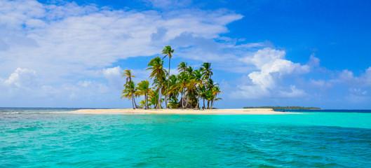 Tuinposter Eiland Paradise Tropical Island