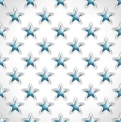 Seamless stars pattern polygonal geometric stylized design