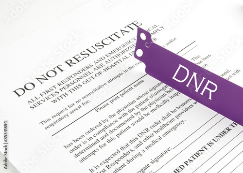 Dnr Bracelet And Hospital Form