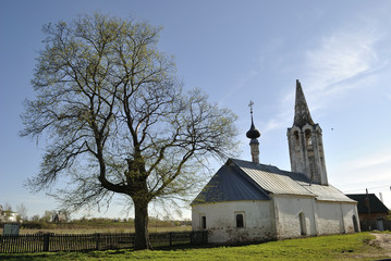 John the Baptist Church (Rozhdestvenskaya). Suzdal, Golden Ring of Russia.