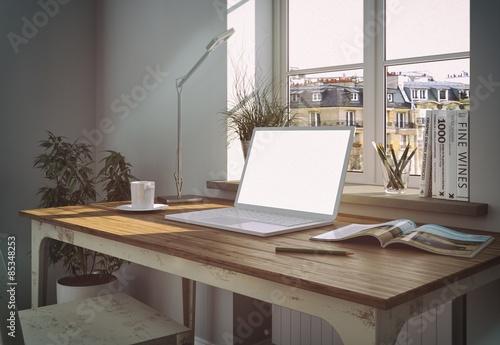 Schreibtisch vor fenster - Schreibtisch vor fenster ...