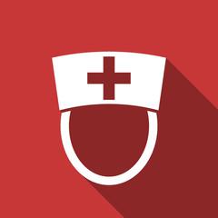 nurse flat design modern icon
