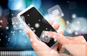 Smart Phone, Mobile Phone, Human Hand.
