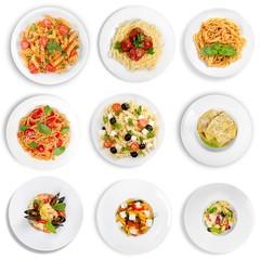 Salad, Pasta, Pasta Salad.
