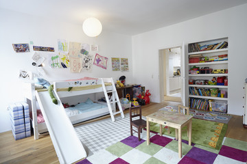 Interior of children's room