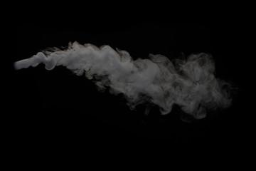 ドライアイスの煙り
