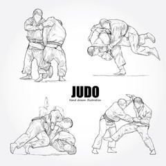 illustration of Judo