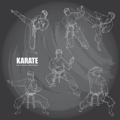 Illustration of Karate