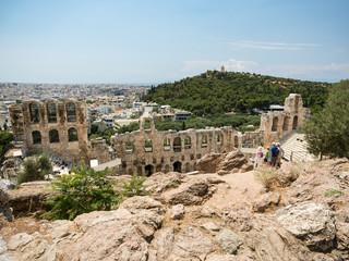Athen - Odeon des Herodes Atticus