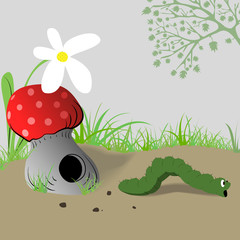 caterpillar_mushroom