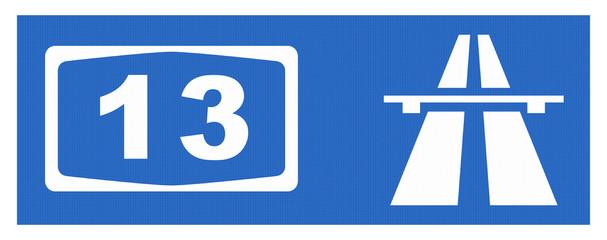 A 13-Symbol mit Reflektierung