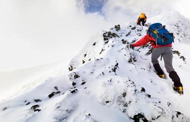 Foto op Aluminium Alpinisme Sharp Edge