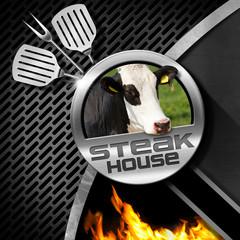 Steak House - Menu Design