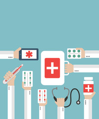 Medical Online diagnosis and treatment