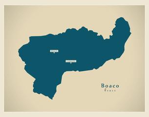 Modern Map - Boaco NI