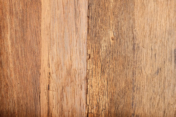 Old brown wood plank as texture and backgrounds
