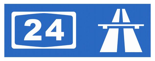 A 24-Symbol mit Reflektierung