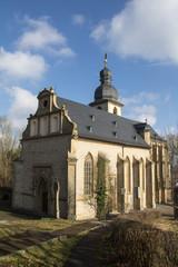 Mountain Church in Laudenbach (Germany)