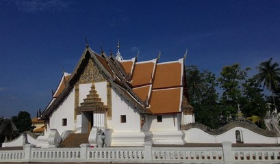 Temple in Nan Thailand name is Wat Phu Mintr