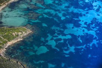 Vista aerea - sud Sardegna