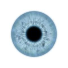Texture iris bleu œil humain