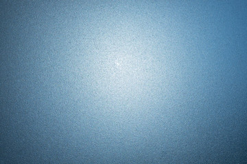 blue frosted glass texture as background