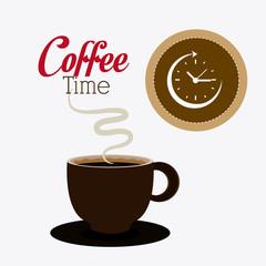 Coffee time design.