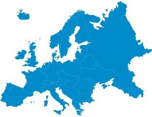 Fototapeta carte d'europe 20062015 obraz