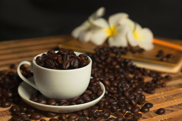 coffee flower background