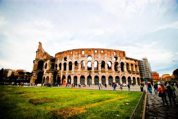 Exterior of the Colosseum