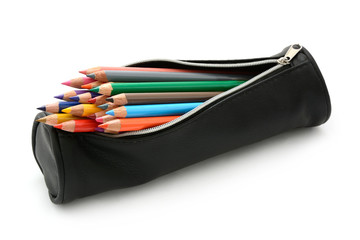 Mäppchen mit Stiften