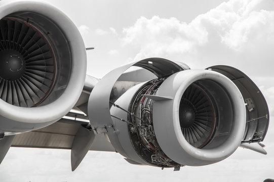 Modern Airplane Turbin