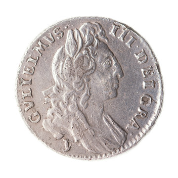 sixpence of william III 1691 obverse