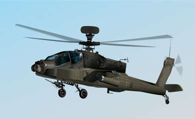 U.S. Army helicopter Apache