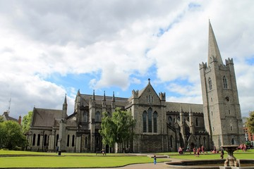 Saint Patrick´s Kathedrale in Dublin.