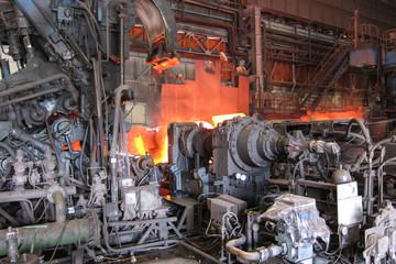 Stahl Walzwerk