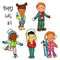 Happy Kids - part 1. Winter edition