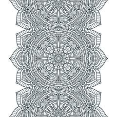 Vector ethnic seamless pattern