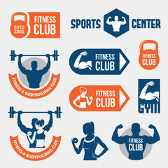 Colored gym labels