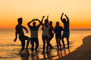 Summer, beach, weekend.