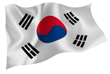 韓国  国旗 旗