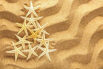 Sand, summer, tree.