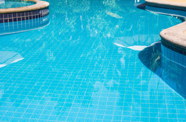 Part of swimming pool