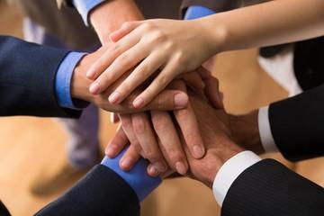 Business, Teamwork, Human Hand.