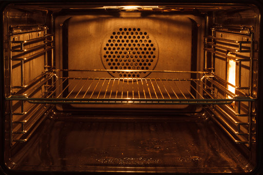nside a dirty oven